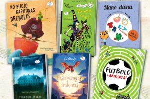 """""""Nieko rimto"""" knygų naujienos įvairaus amžiaus vaikams"""