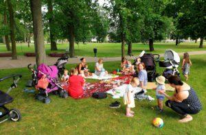 Mantinga mamyčių klubo vasaros piknikas