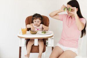 Papildomas maitinimas gabaliukais – ar neužsprings?