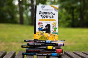 Populiariausias Lietuvos vaikų rašytojas Tomas Dirgėla pristato naują knygą apie Domą, Tomą ir Upę