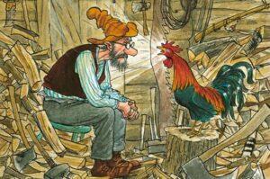Sugrįžo skaitytojų pamiltos knygos apie Petsoną ir Findusą: ši serija aktuali jau ne vieną dešimtmetį