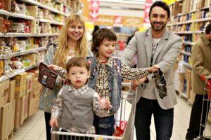 Į parduotuvę su vaiku neikite, jeigu jis pavargęs, nepavalgęs, piktas ar suirzęs