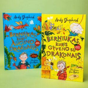 knyga apie drakonus