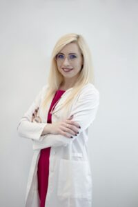 šeimos gydytoja Kristina Lebedevaitė