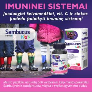 vitaminai vaikams
